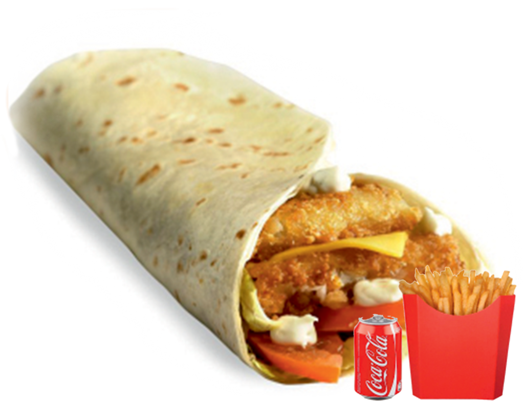 WRAP ROSTY CHICKEN